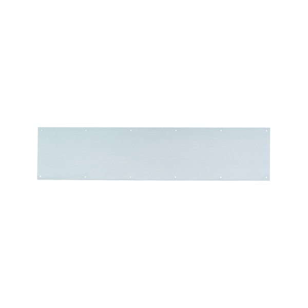 Picture of Schlage C8400PA28 8X34 Kick Plate, 34 in L, 8 in W, Aluminum, Anodized