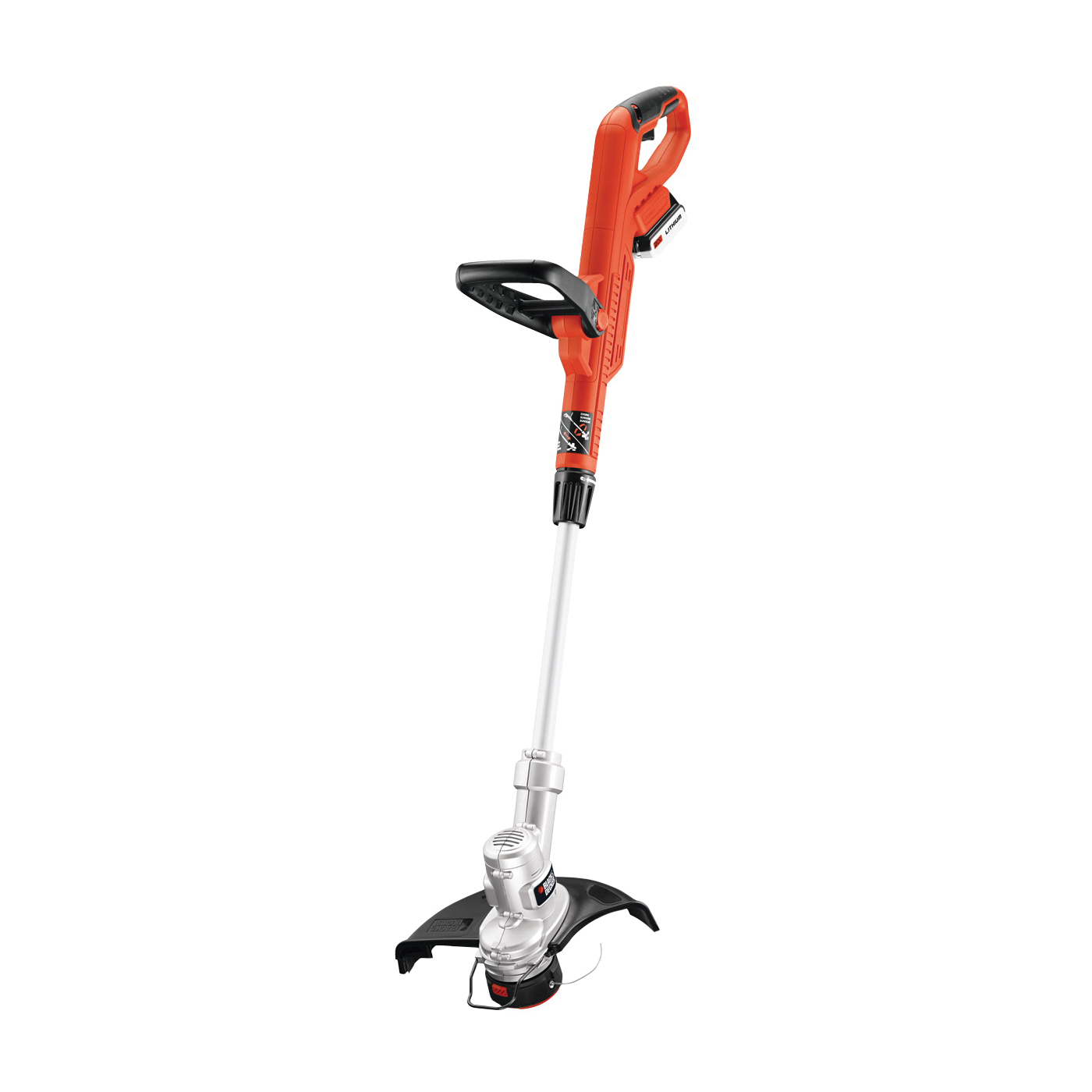Picture of Black+Decker LST300 String Trimmer and Edger, 2 A, 20 V, 12-1/2 in L Shaft