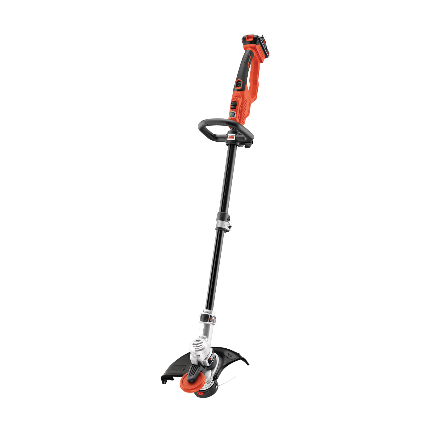 Picture of Black+Decker LSTE523 String Trimmer and Edger, 20 V, 46-1/2 in L Shaft