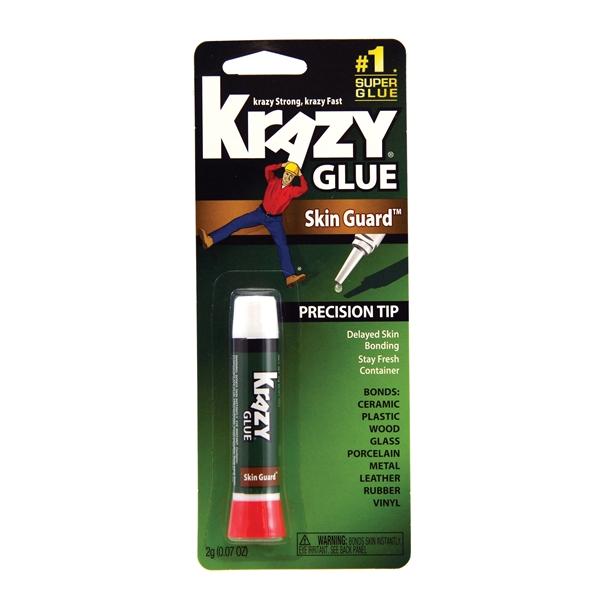 Picture of Krazy Glue Skin Guard KG78548R Super Glue, Liquid, Irritating, Clear, 2 g Package, Tube