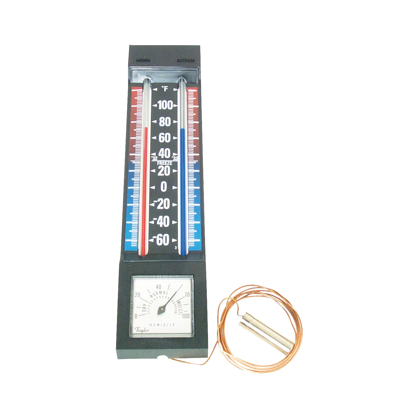 Picture of Taylor 5329 Thermometer with Hygrometer, -40 to 100 deg F