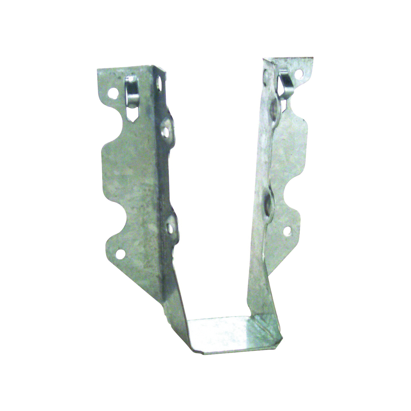 Picture of MiTek JUS26 Slant Joist Hanger, 4-13/16 in H, 1-3/4 in D, 1-9/16 in W, 2 in L x 6 to 8 in H, Steel, Galvanized