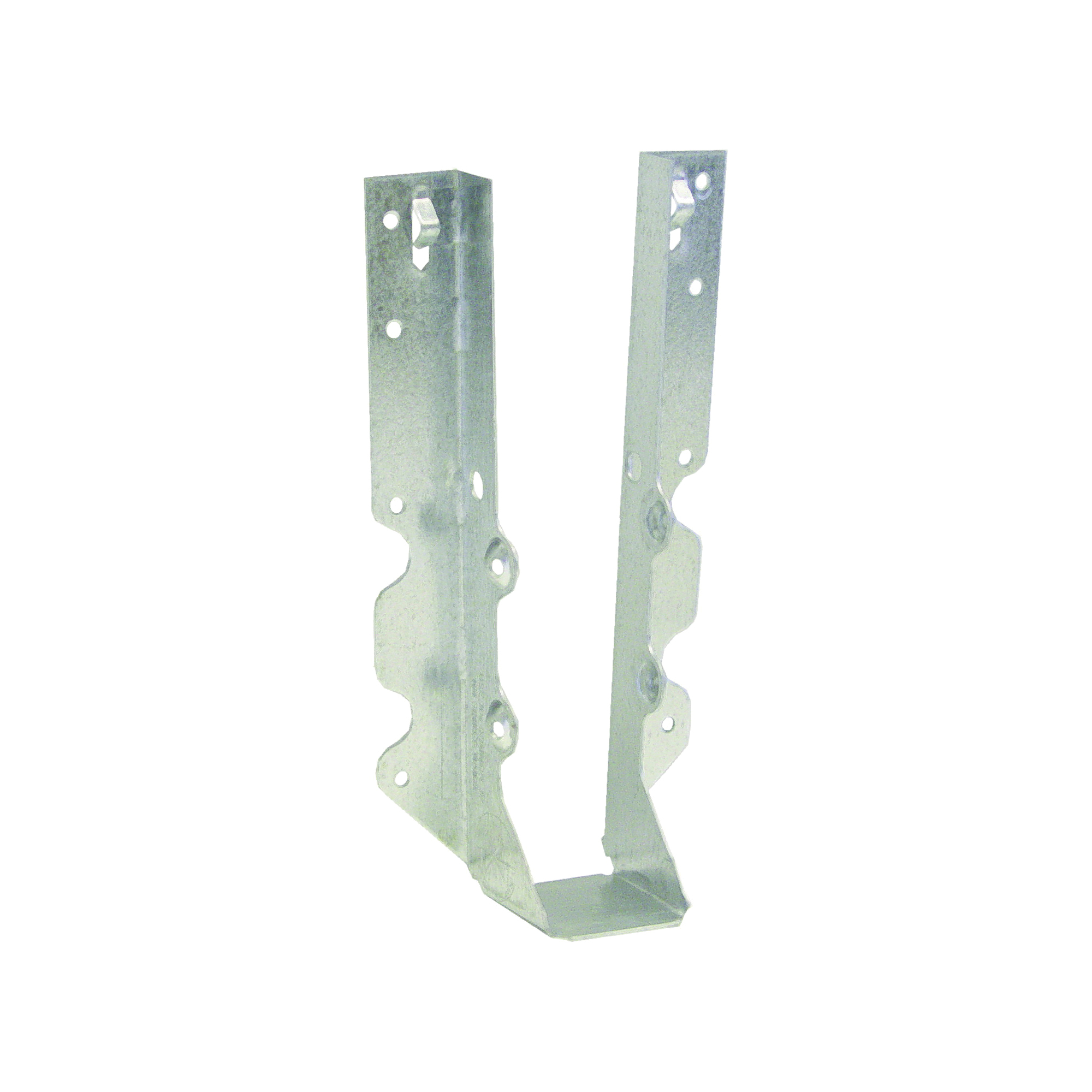 Picture of MiTek JUS210 Slant Joist Hanger, 7-3/4 in H, 1-3/4 in D, 1-9/16 in W, 2 in x 10 to 12 in, Steel, G90 Galvanized
