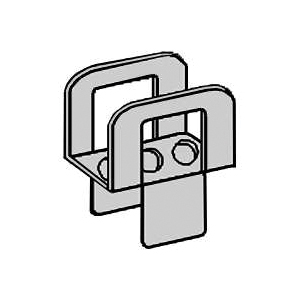Picture of TAMLYN PCS1532 Framing Plywood Clip, 20 Thick Material, Steel, Galvanized