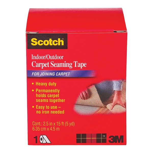 Picture of Scotch CT4010DC Carpet Seaming Tape, 15 ft L, 2-1/2 in W