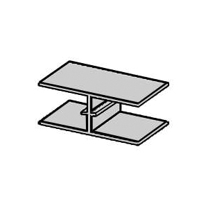 Picture of TAMLYN PC1532 Plywood Clip, Aluminum, Mill