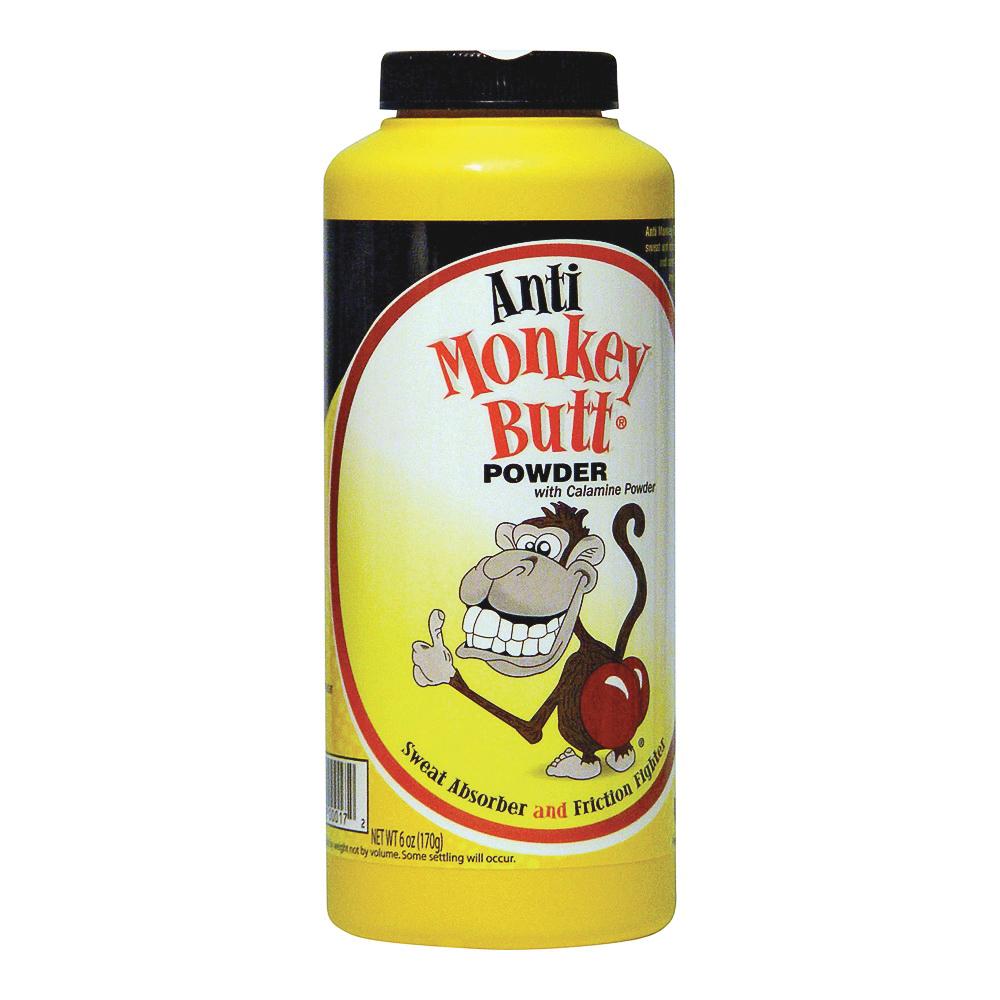 Picture of Anti Monkey Butt 817006 Anti-Friction Powder, Powder, 6 oz Package, Bottle