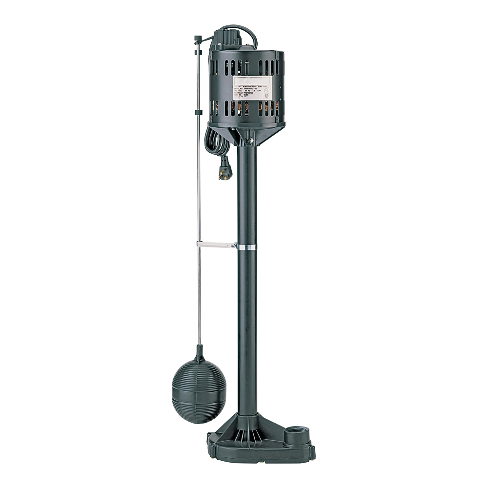 Picture of Sta-Rite Simer 5020B-04 Sump Pump with Float Switch, 3.5 A, 115 V, 0.33 hp, 1-1/4 in Outlet, 3480 gph
