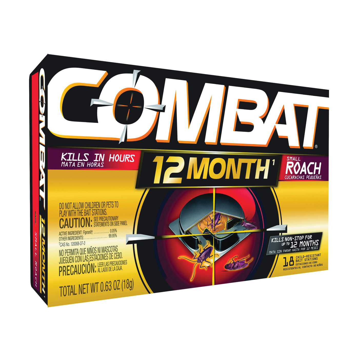 Picture of COMBAT 97218 Roach Bait