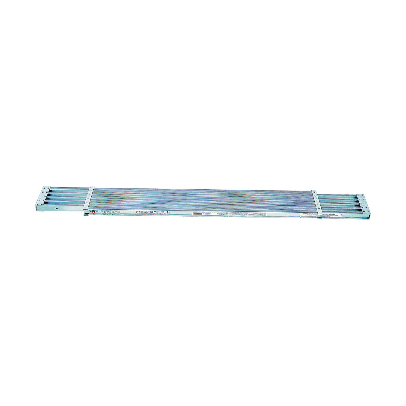 Picture of WERNER PA200 Series PA208 Extension Plank, 8 to 13 ft L, 14 in W, Aluminum