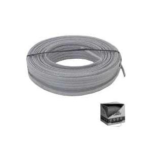 Picture of EEC 3981654 Building Wire, 14 AWG Wire, 2-Conductor, Copper Conductor, PVC Insulation, Nylon Sheath, Gray Sheath
