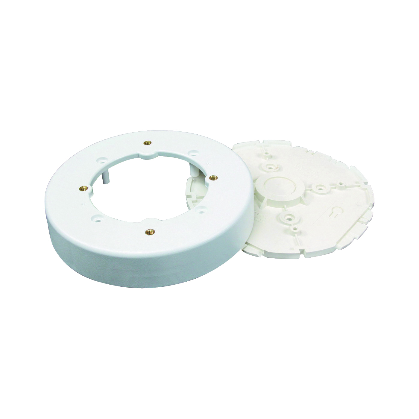 Picture of Legrand Wiremold NMW Series NMW4 Fixture Box, 4 in D, 1-Gang, Plastic, White