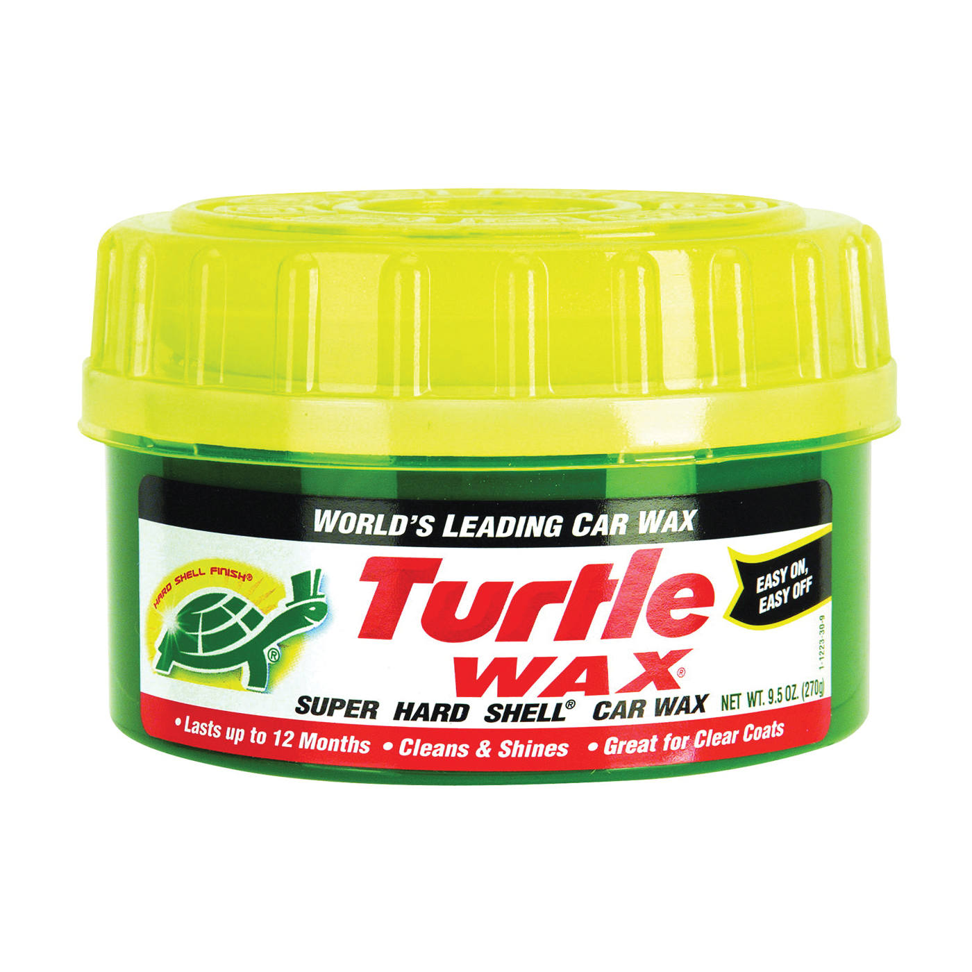 Picture of Turtle Wax SUPER HARD SHELL T223R Car Wax, 9.5 oz Package, Paste, Solvent