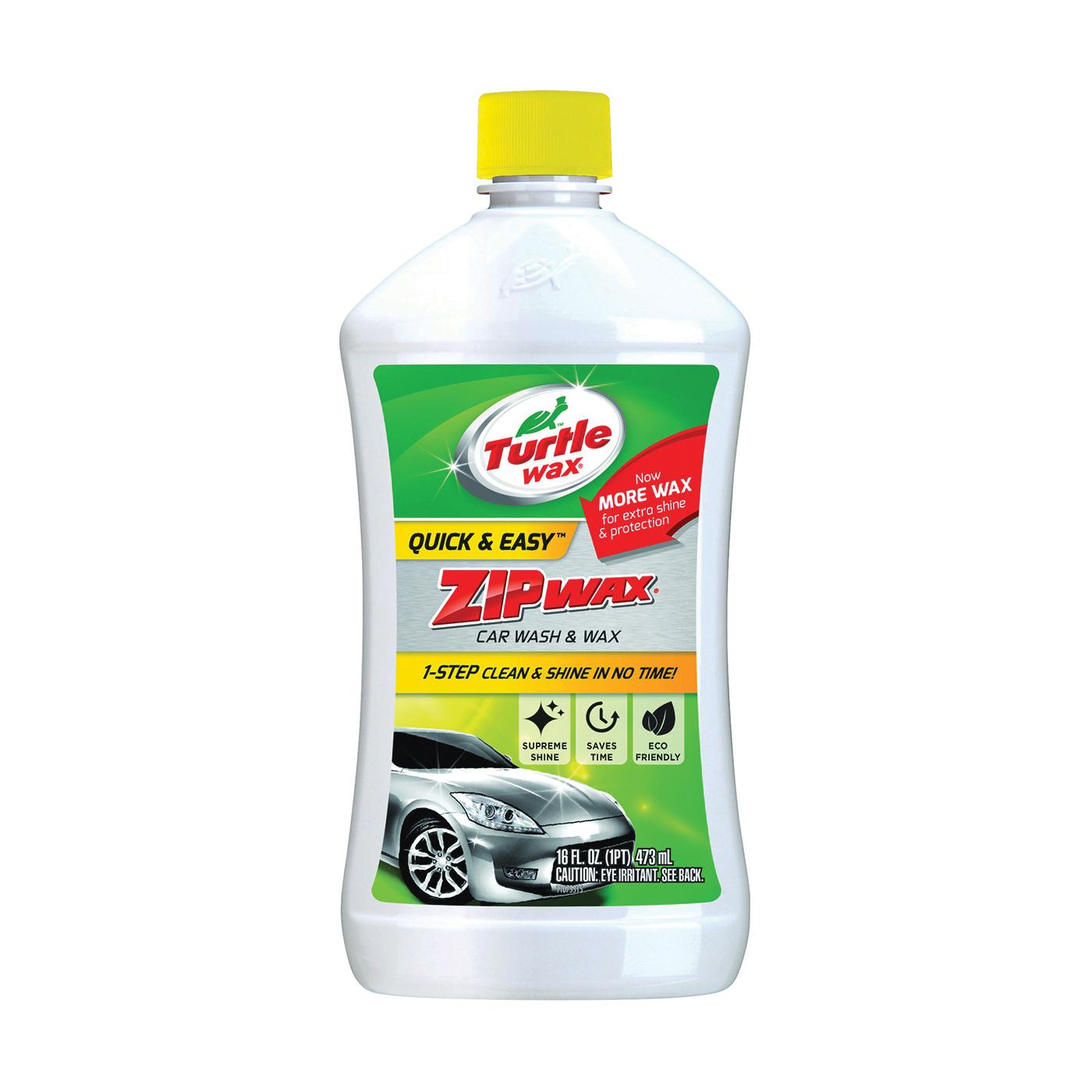 Picture of Turtle Wax Quick & Easy T75 Car Wash Concentrate, 16 fl-oz Package, Bottle, Liquid, Lemon