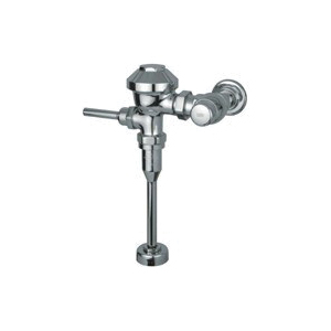 Picture of Zurn Z6003-WS1-YB-YC Diaphragm Flush Valve, Chrome, Manual Actuator, For: Zurn's 1.0 gpf Flush System, 3/4 in Urinals