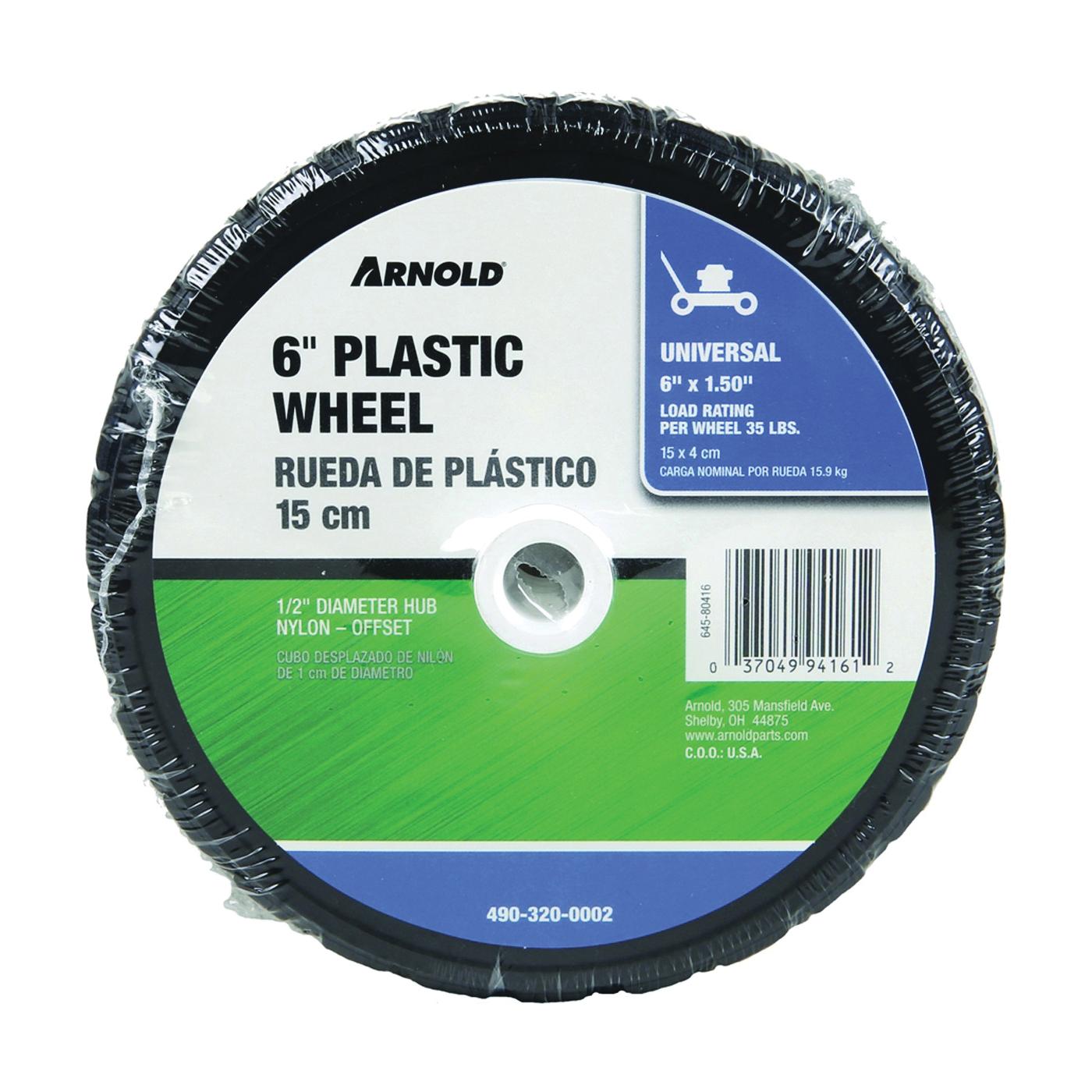 Picture of ARNOLD 650-P Tread Wheel, Semi-Pneumatic, Plastic/Rubber