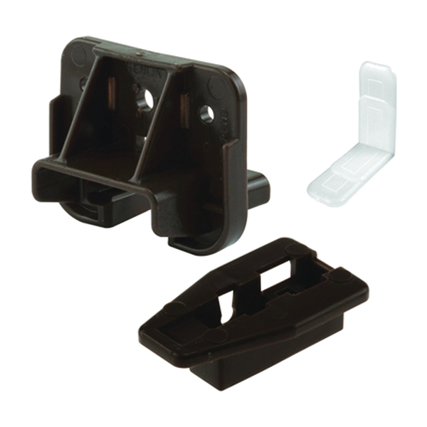 Picture of Prime-Line R 7321 Drawer Track Guides and Glides, Plastic, Dark Brown
