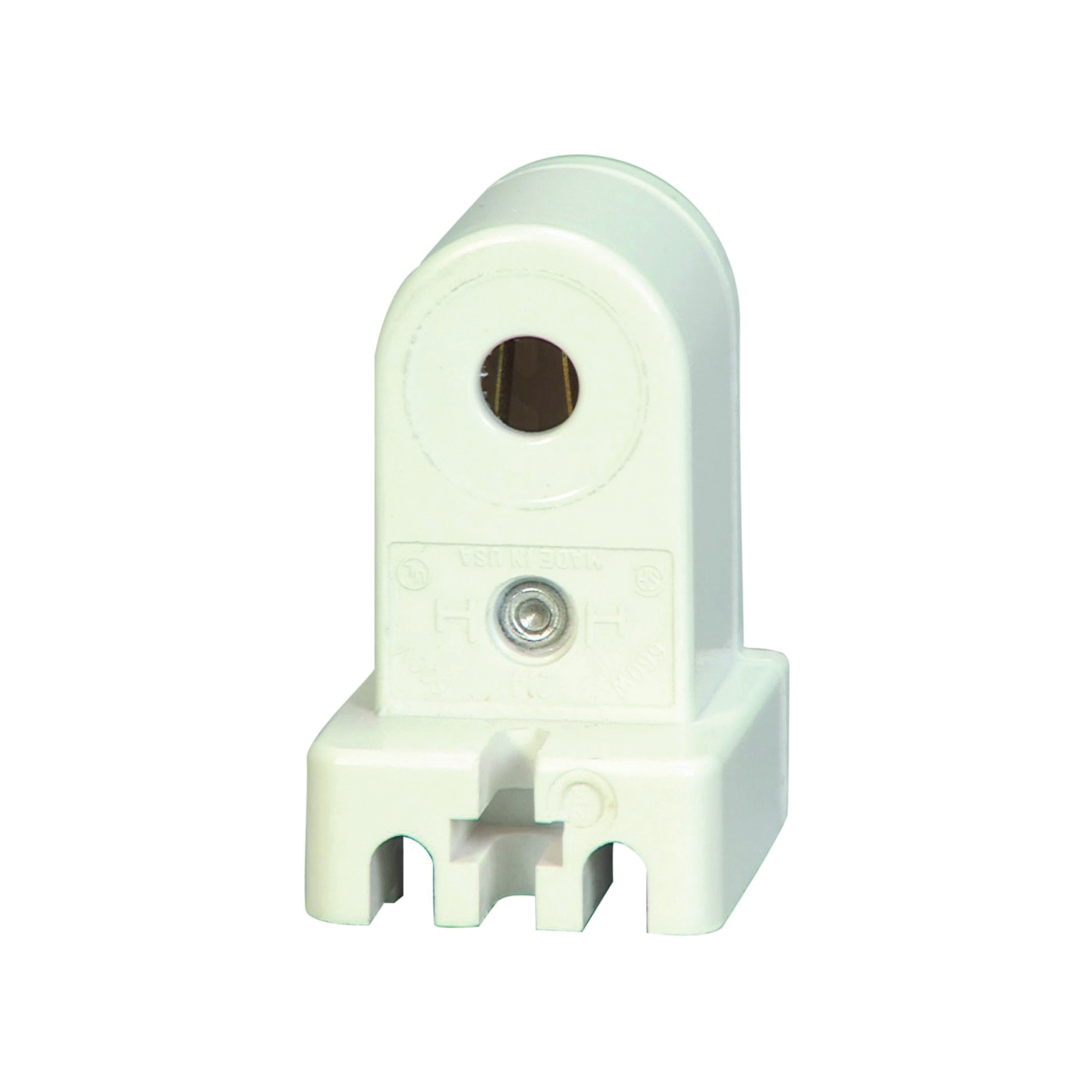 Picture of Eaton Wiring Devices 2503W-BOX Lamp Holder, 600 VAC, 660 W, White