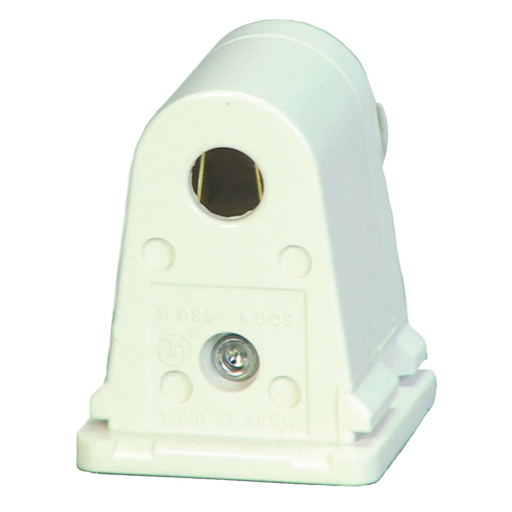 Picture of Eaton Wiring Devices 2506W-BOX Lamp Holder, 600 VAC, 660 W, White