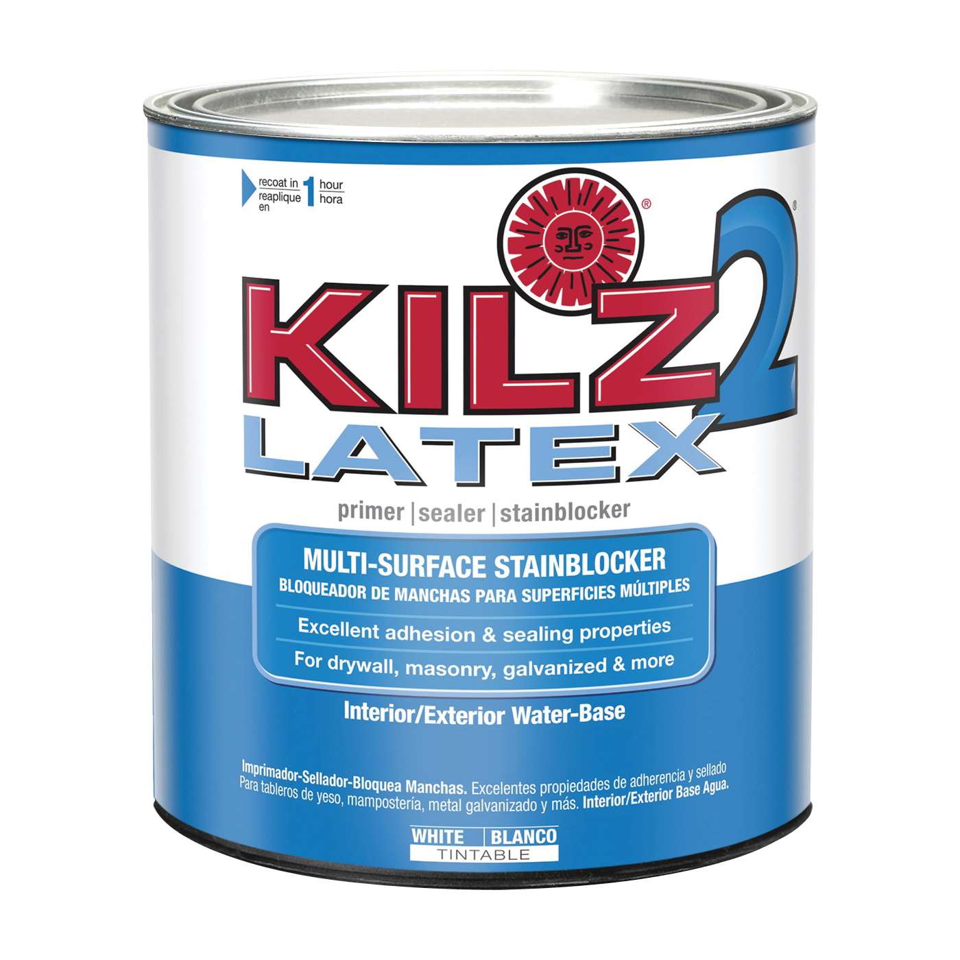 Picture of Kilz 20002 Exterior Primer, White, 1 qt