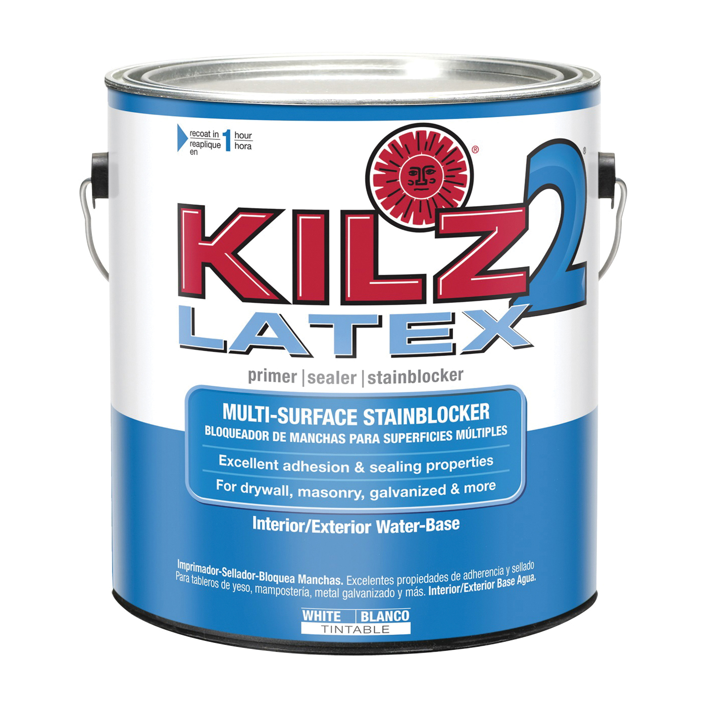 Picture of Kilz 20041 Exterior Primer, White, 1 gal, Can