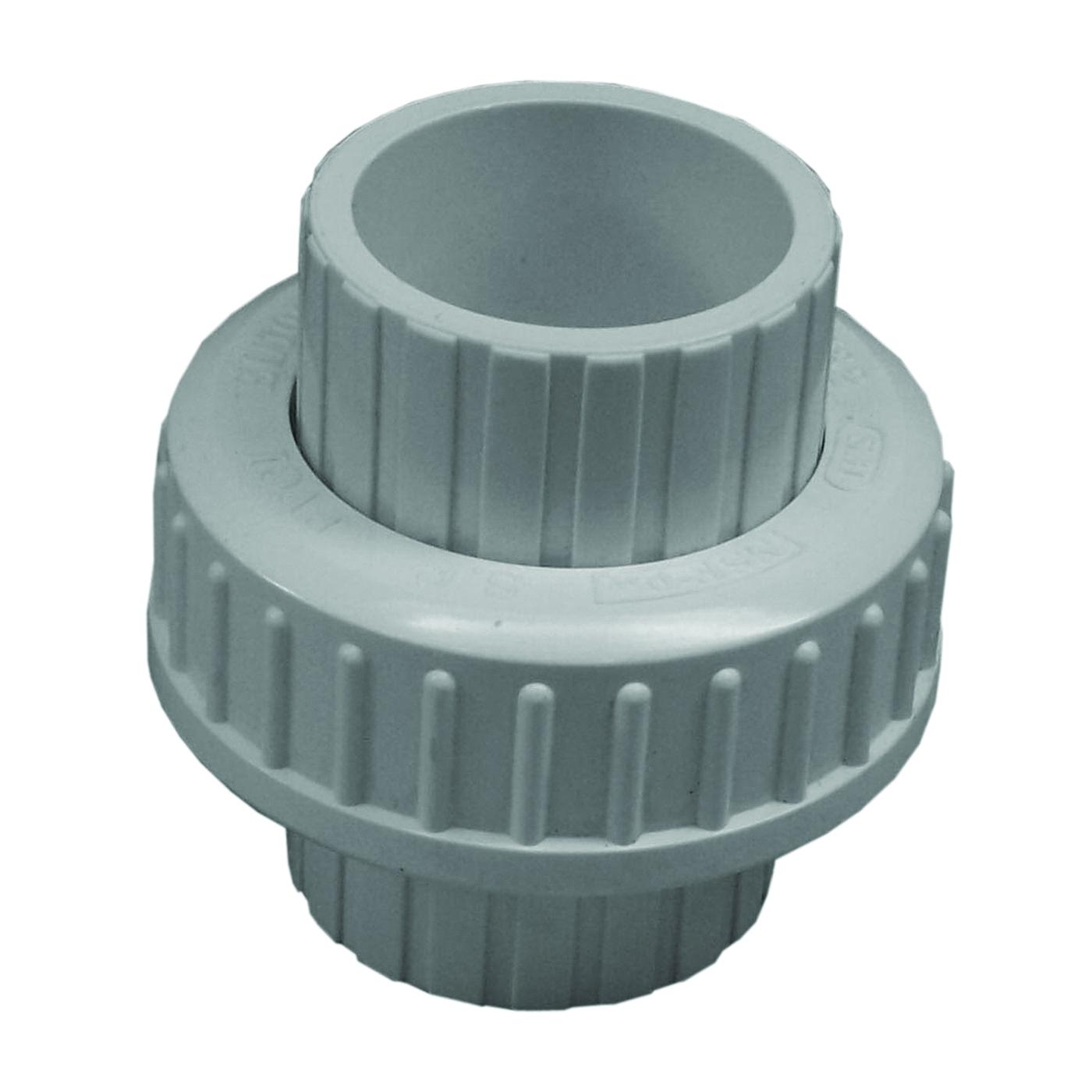 Picture of GENOVA 300 Series 37207 Pipe Union, 3/4 in, Slip Joint, SCH 40 Schedule, 150 psi Pressure