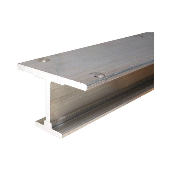 Picture of Johnson Hardware 200-0072 Door Track, Aluminum, Mill Aluminum, 1-7/8 in W, 1-5/16 in H, 72 in L