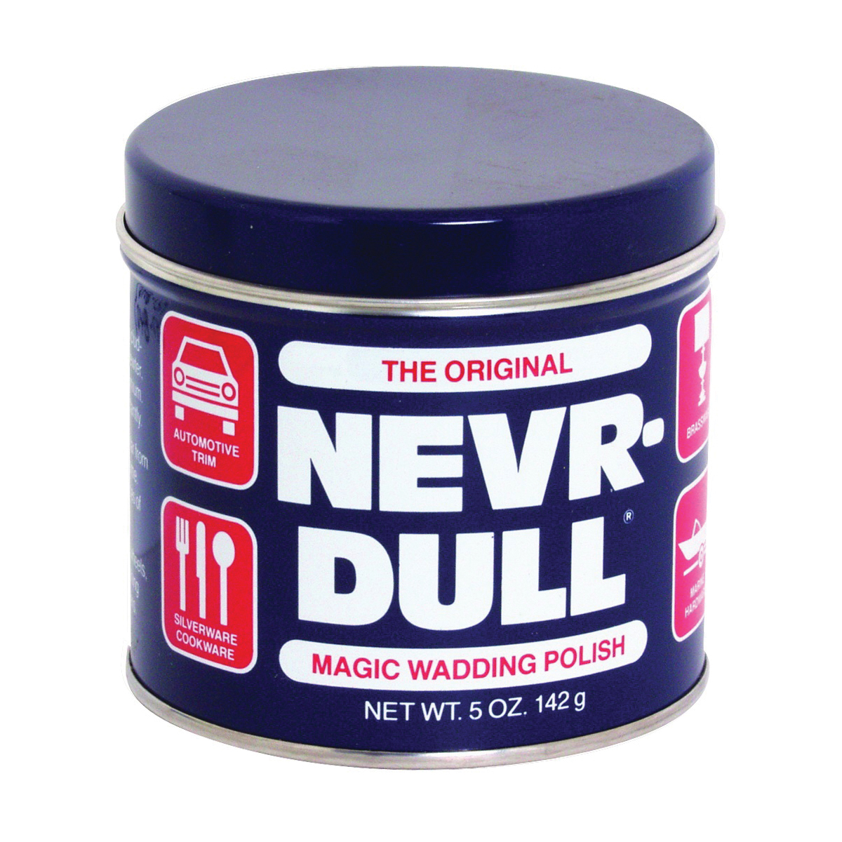 Picture of NEVR-DULL ND-L Wadding Polish, 5 oz Package, Liquid, Cotton Wadding