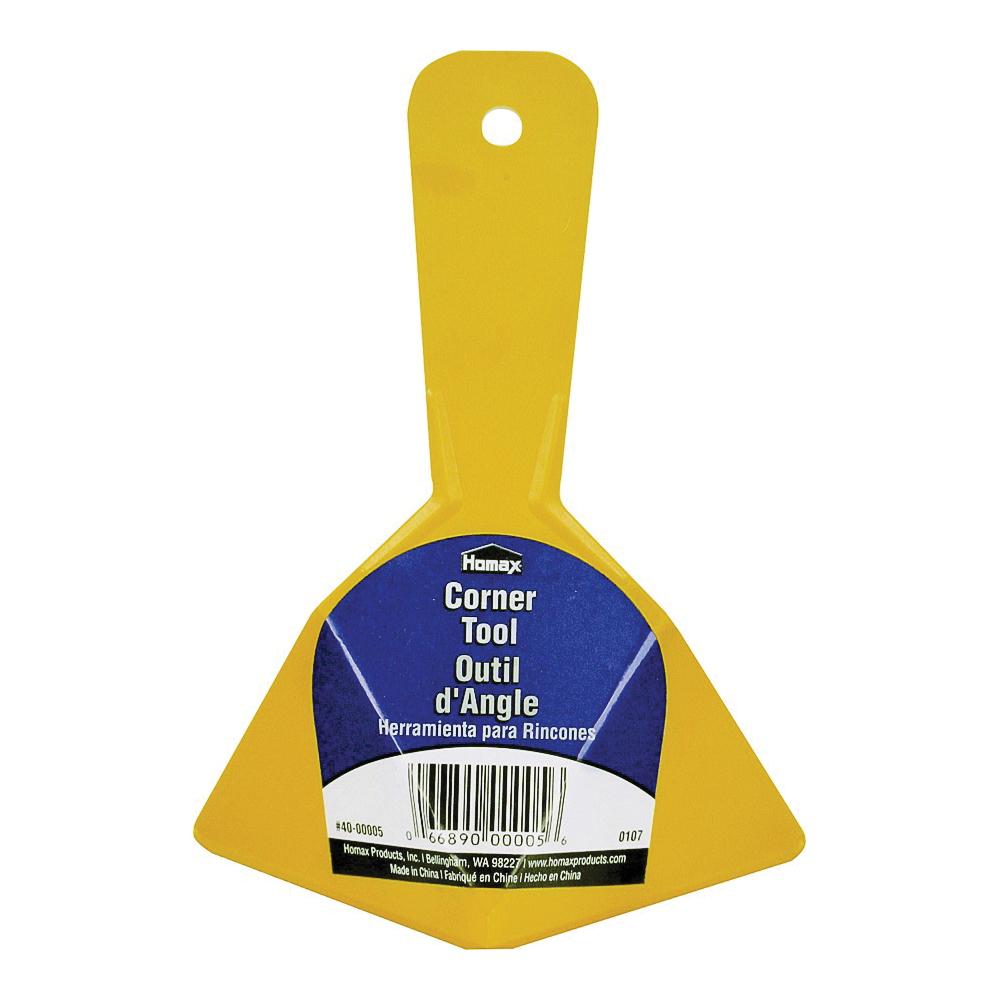 Picture of Homax EZ-SEAMER 40-00005 Corner Tool, Plastic Blade, Straight End Blade, Polypropylene Handle