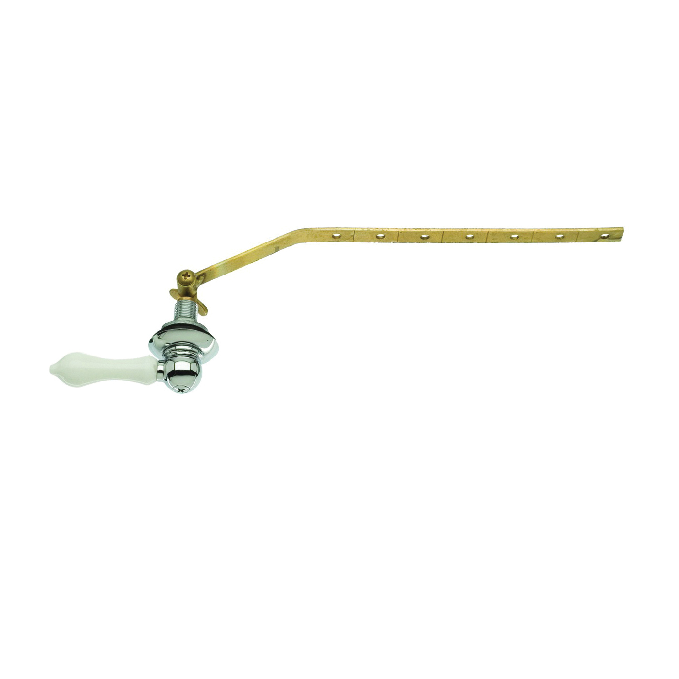 Picture of Danco 89448A Wallplate Toilet Handle, Brass, For: Angled, Front or Side-Mount Toilet Tank