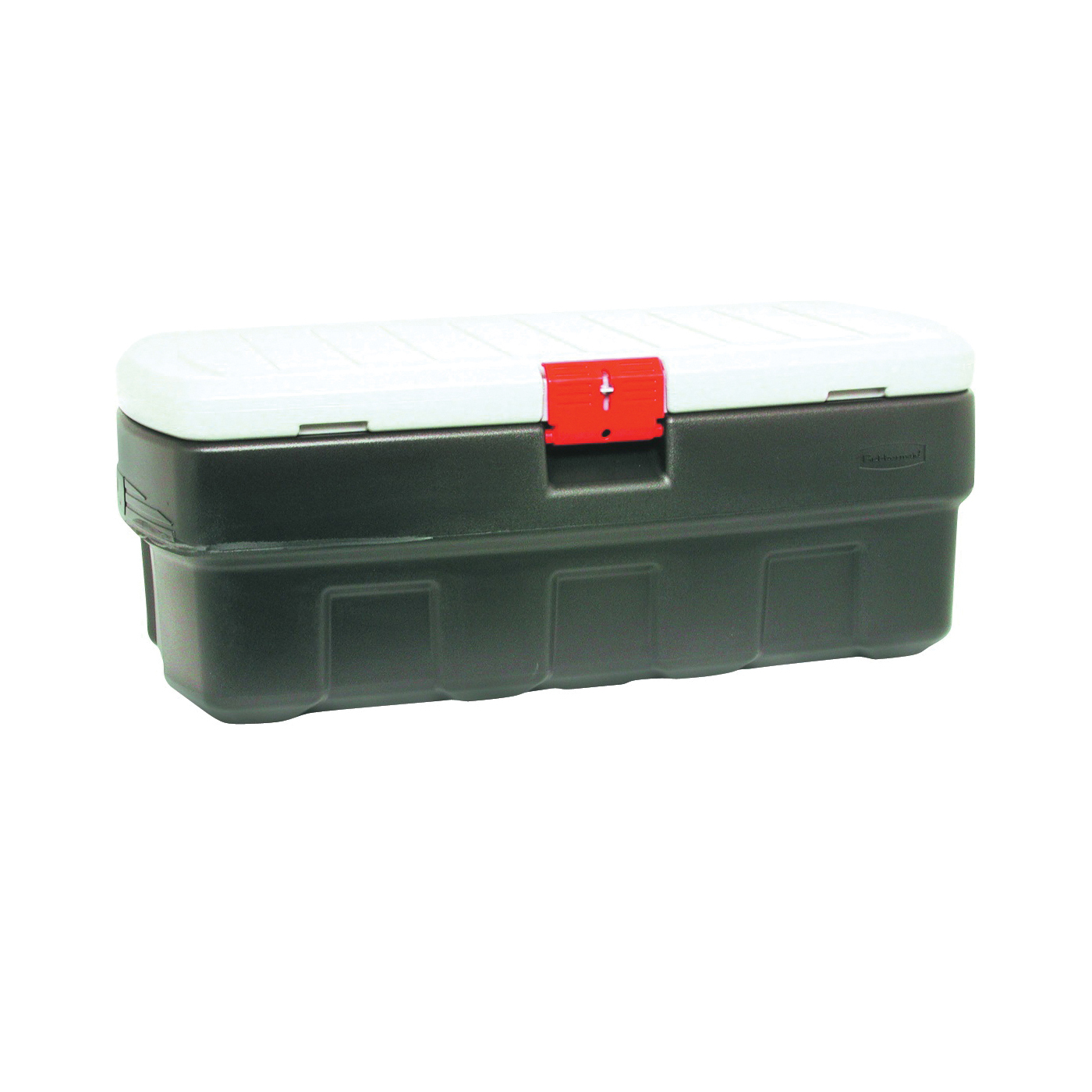 Picture of Rubbermaid ActionPacker RMAP480000 Storage Box, Plastic, Black, 43.8 in L, 20 in W, 17 in H