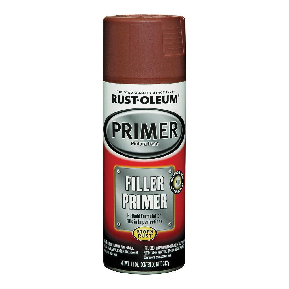 Picture of RUST-OLEUM AUTOMOTIVE 249320 Automotive Primer Spray Paint, Red, 11 oz, Aerosol Can