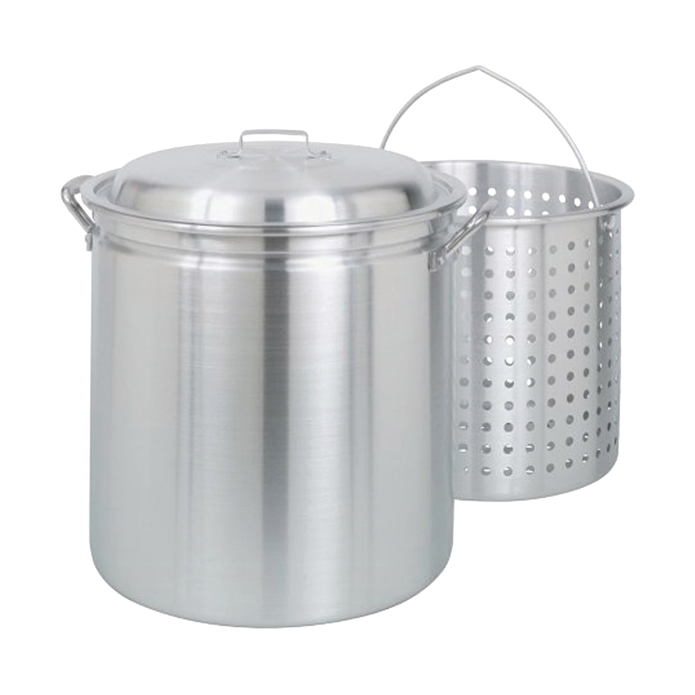 Picture of Bayou Classic 4060 Stock Pot, 60 qt Capacity, Aluminum