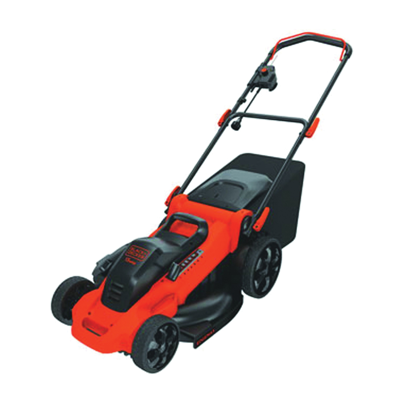 Picture of Black+Decker MM2000 Lawn Mower, 13 A, 120 V, 20 in W Cutting