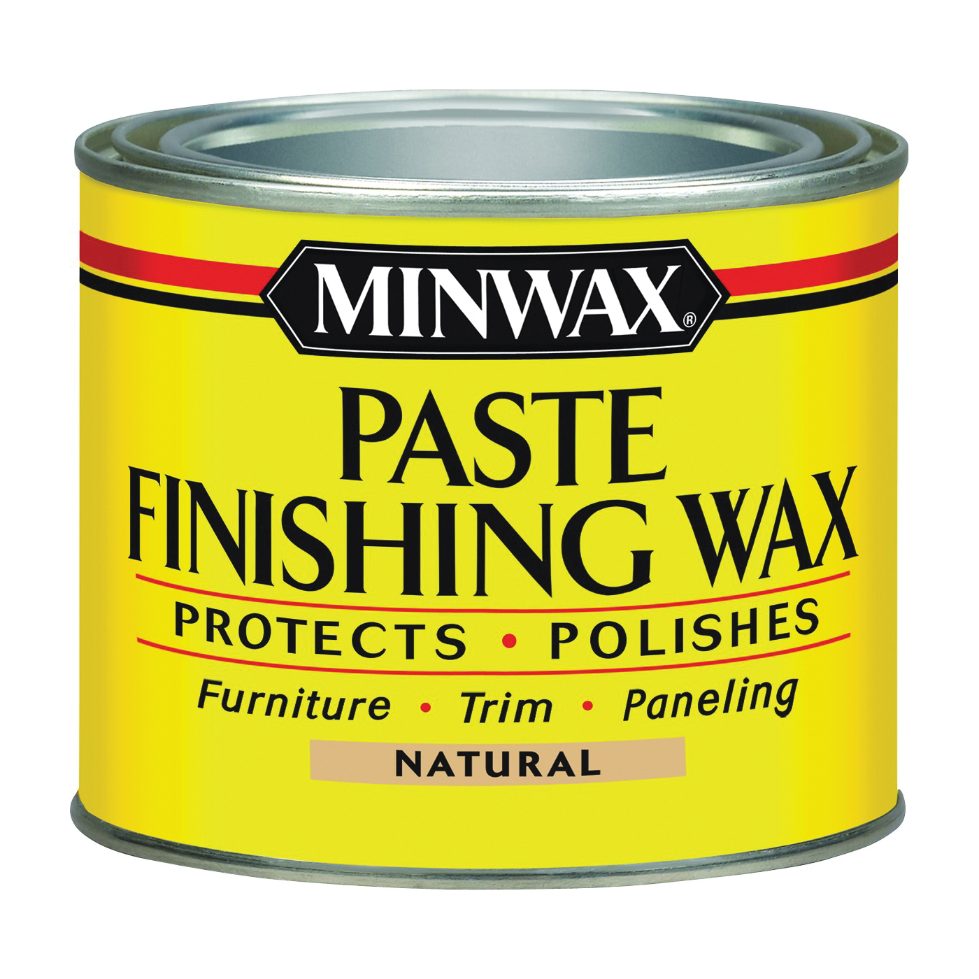 Picture of Minwax 785004444 Finishing Wax, Natural, Paste, 1 lb, Can