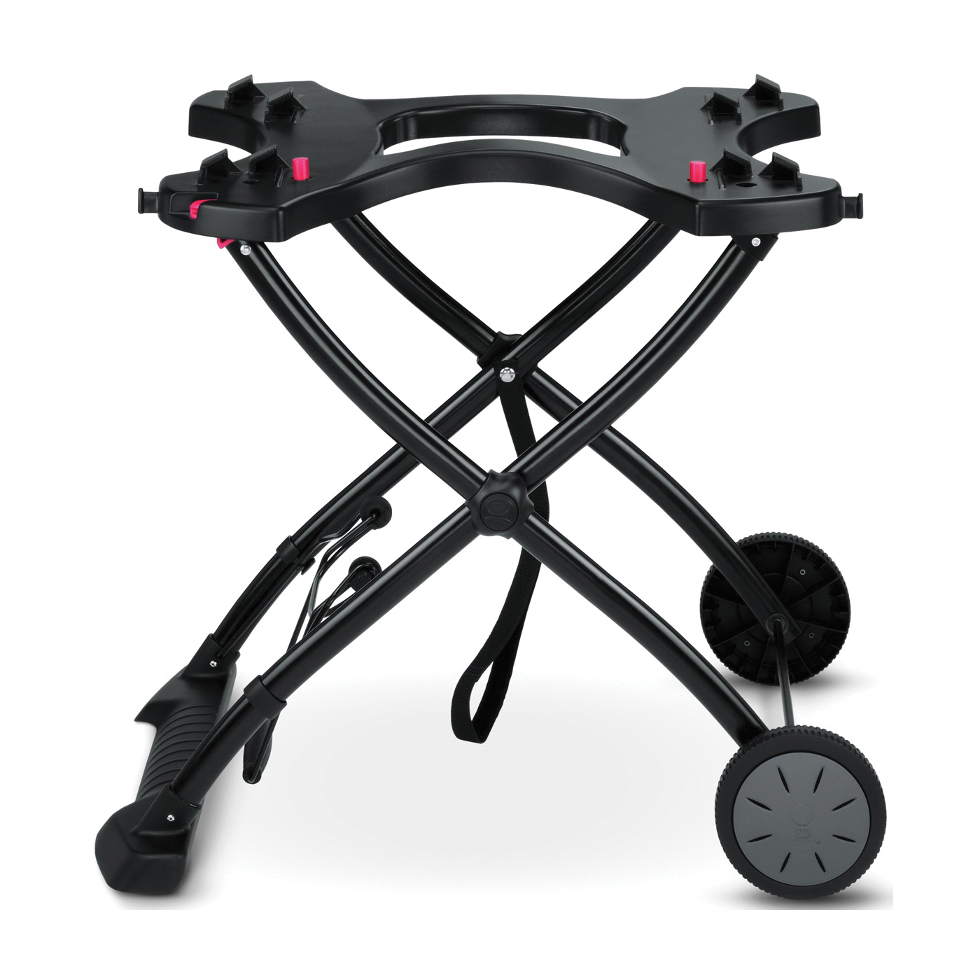Picture of Weber 6557 Grill Rolling Cart, 20 in OAL, 29 in OAW, Plastic/Steel, Black