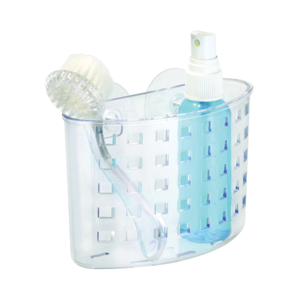 Picture of iDESIGN 23500 Shower Caddy, Plastic, 2-3/4 in OAW, 7 in OAH, 5.4 in OAD