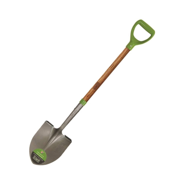 Picture of AMES 2535800 Digging Shovel, 8-3/4 in W Blade, Steel Blade, Hardwood Handle, D-Shaped Handle, 36-3/4 in L Handle