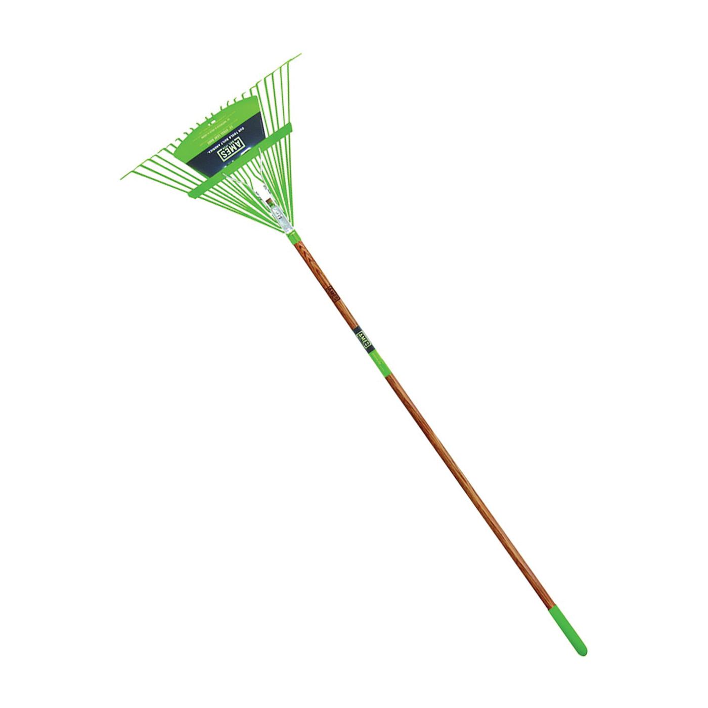 Picture of AMES 2915612 Leaf Rake, Steel Tine, 22 -Tine, Wood Handle