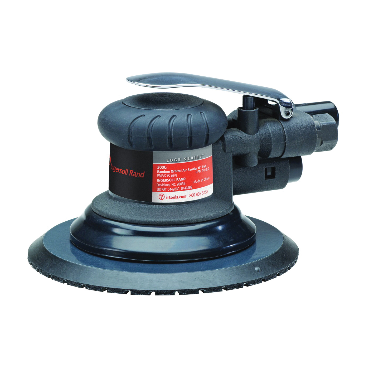 Picture of Ingersoll Rand 300G Air Sander, 6 in Pad/Disc, 15.5 cfm Air