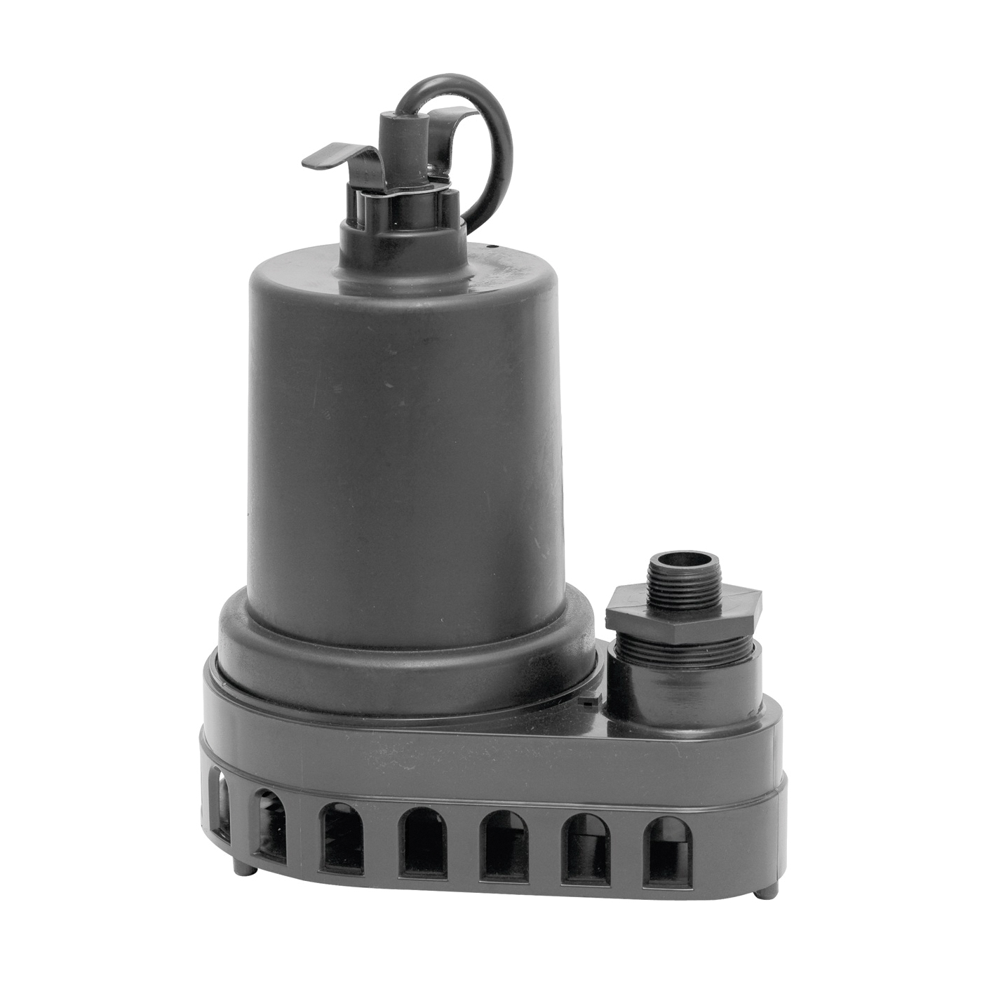 Picture of SUPERIOR PUMP 91570 Utility Pump, 4.9 A, 120 V, 0.5 hp, 1-1/2 in Outlet, 55 gpm, Thermoplastic Impeller
