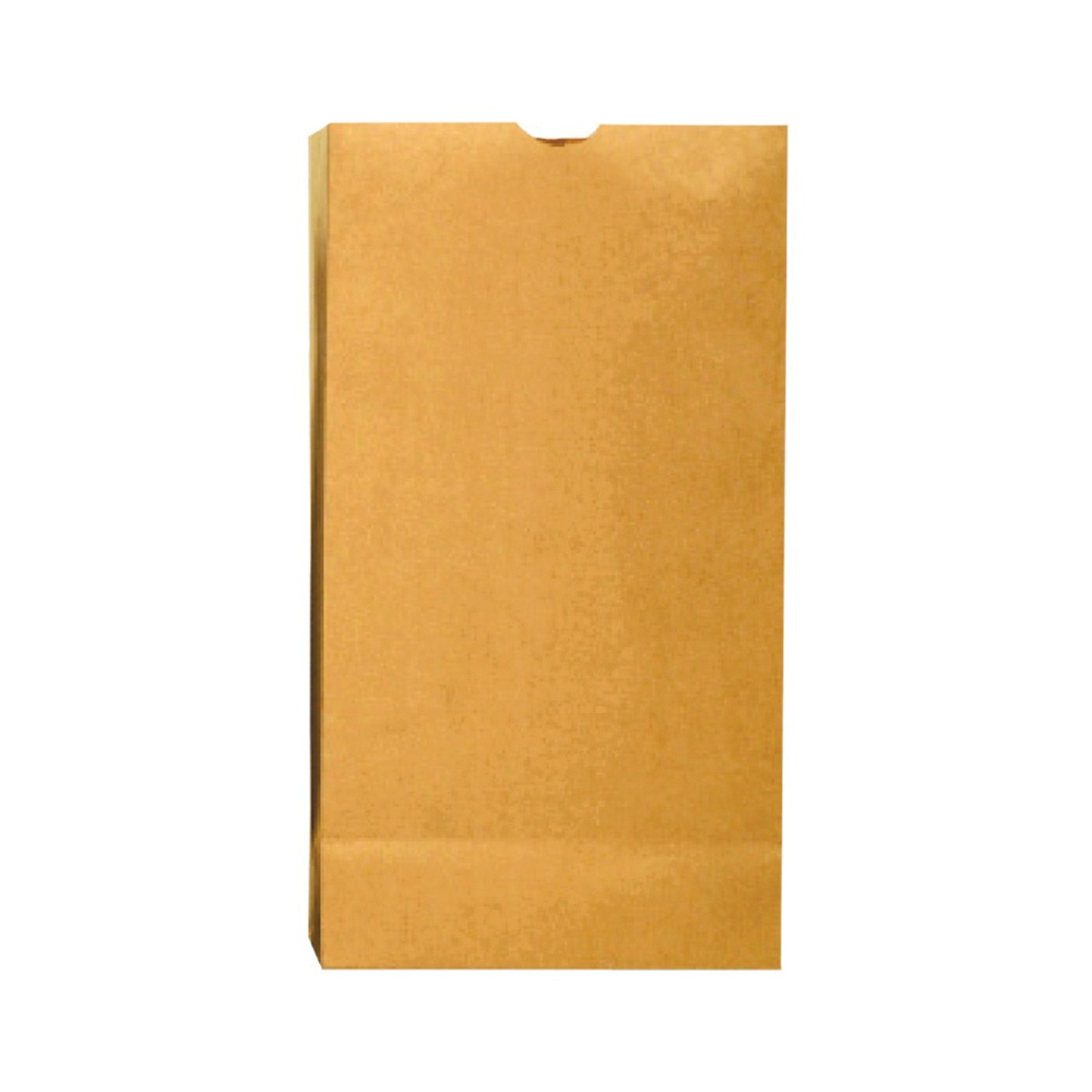 Picture of Duro Bag Dubl Life 18402 SOS Bag, #2, 30 lb Capacity, Kraft Paper, Brown, 500, Bale