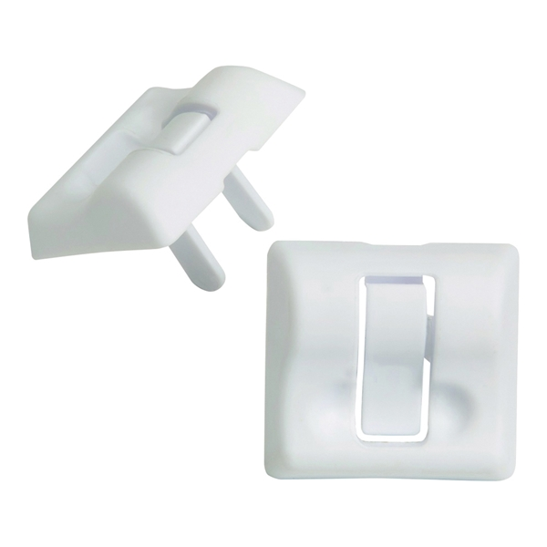 Picture of Safety 1st HS224 Press and Pull Plug Protector, White, 20, Pack