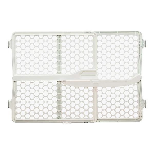 Picture of Safety 1st GA087CRE4 Doorway Gate, Plastic, Cream, 23-1/2 in H Dimensions