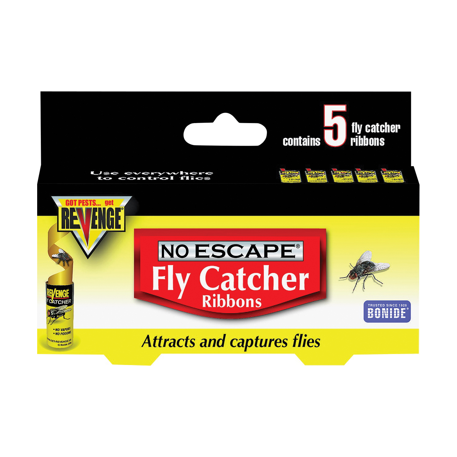 Picture of Bonide 46120 Fly Catcher, Solid, 5 Package, Pack