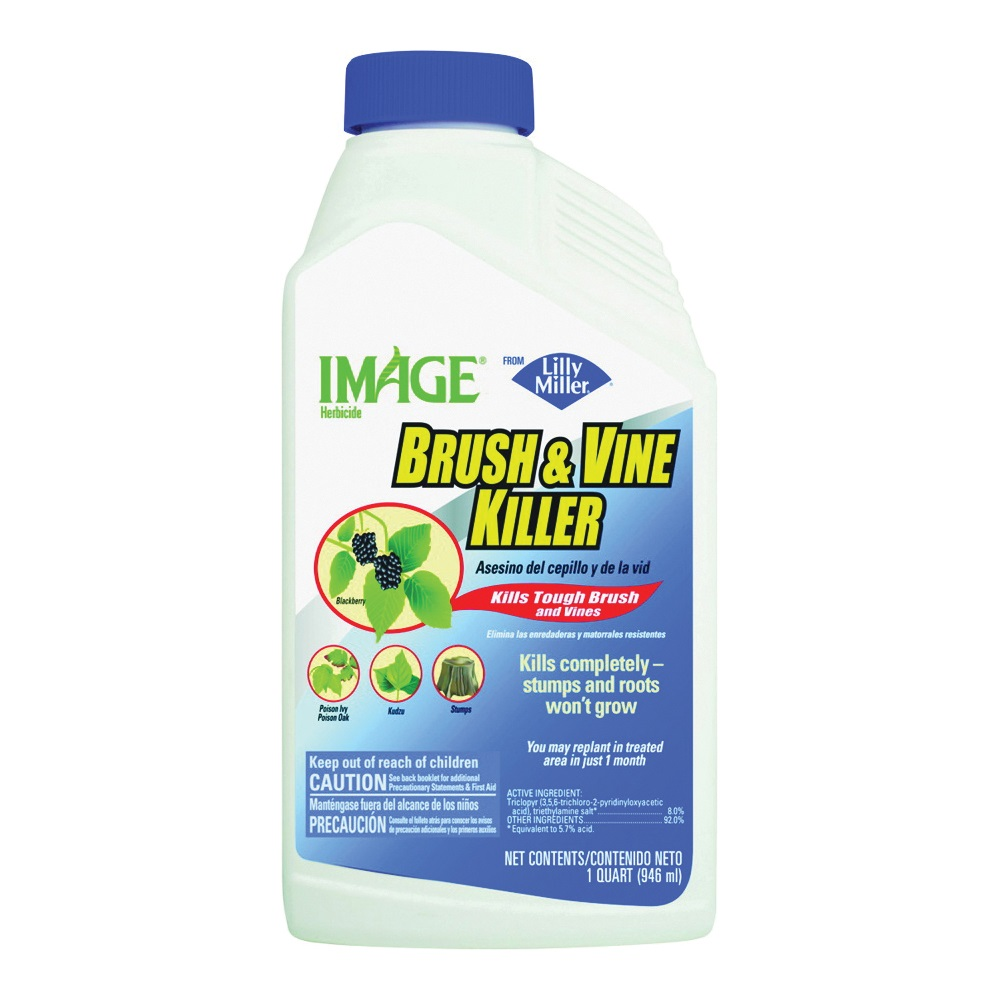 Picture of Image 100099398 Brush and Vine Killer, Liquid, Pale Pinkish, 32 oz Package, Bottle