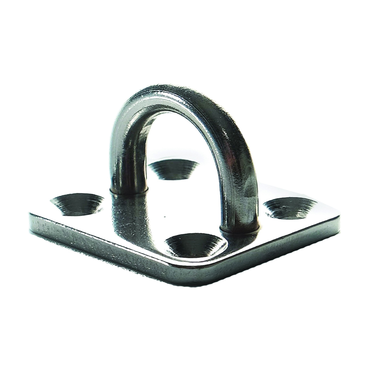 Picture of Ram Tail RT SEP-02 Square Eye Plate, Stainless Steel, For: Turnbuckle or Fork Jaws