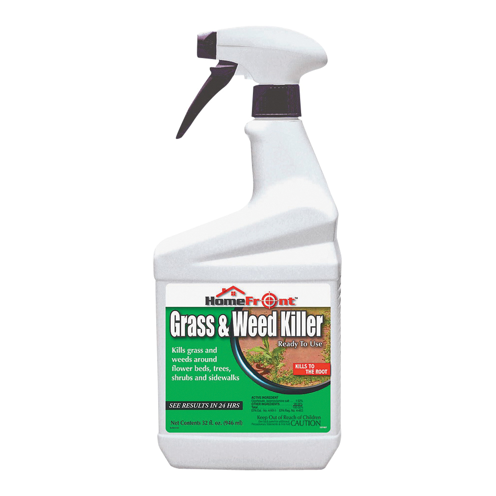 Picture of Bonide 107497 Grass and Weed Killer, 1 qt Package, Bottle