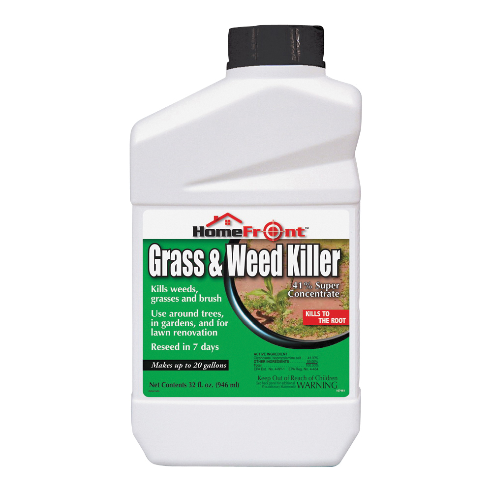 Picture of HomeFront 107461 Weed and Grass Killer, 1 qt Package