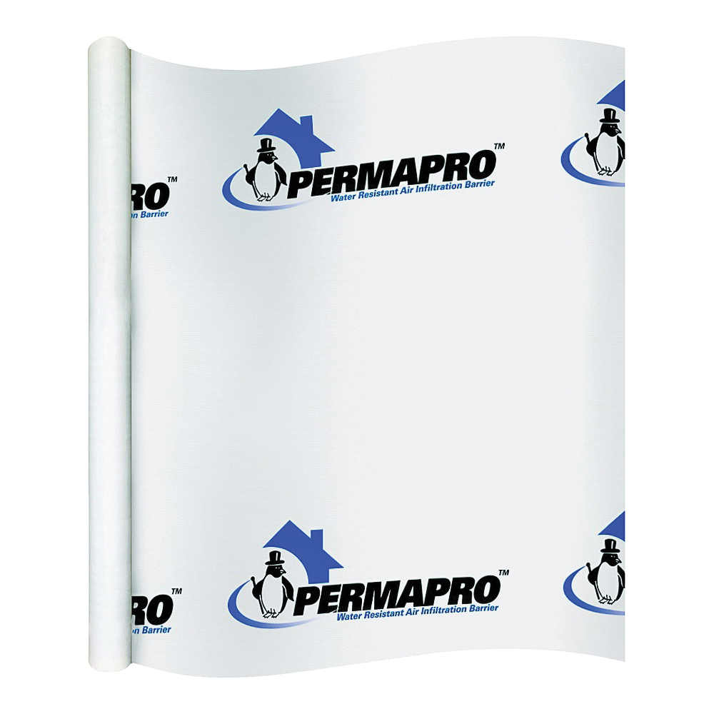 Picture of PermaPro 509150 PRO House Wrap, 150 ft L, 9 ft W, Polypropylene